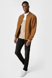 C&A Slim Jeans-Jog Denim-wassersparend produziert, Schwarz, Größe: W28 L32