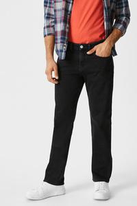 C&A Regular Jeans, Schwarz, Größe: W30 L32