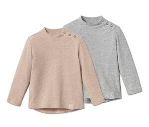 2 Baby-Rippshirts
