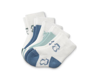 5 Paar Baumwoll-Babysocken
