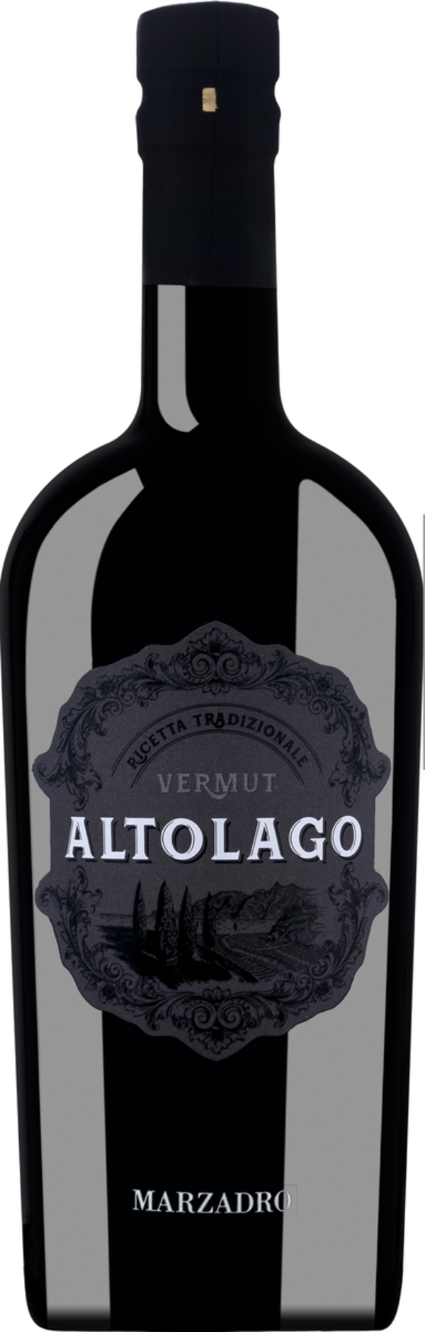 Marzadro Altolago Vermut Ricetta Tradizionale   - Wermut, Italien, halbtrocken, 0,75l