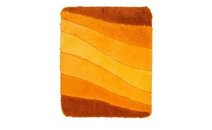 MEUSCH Badteppich  Ocean - orange - 100% Polyacryl - 55 cm