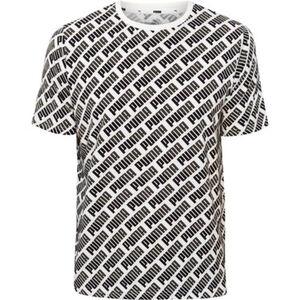 Puma T-Shirt, mit Allovermotiv, für Herren