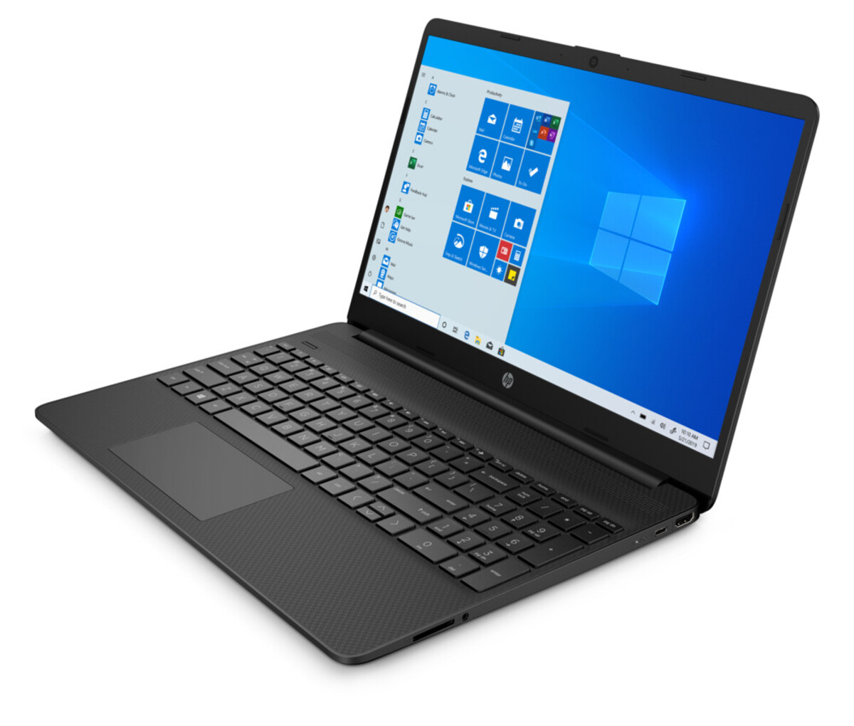 Bild 3 von HP 15s-eq2632ng schwarz Notebook (15,6 Zoll Full-HD (matt), Ryzen 5 5500U, 8 GB RAM, 512 GB SSD, AMD Radeon, Windows 10 Home)