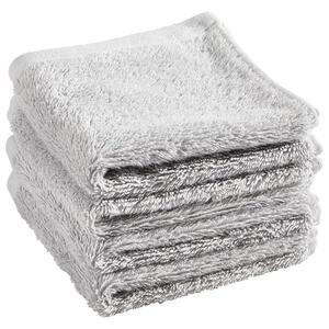 Blomus Seiftuch grau 4-teilig  Riva 4ER Set  Textil