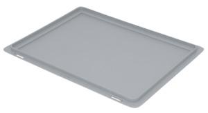 METRO Professional Eurobehälter-Deckel Grau - 40 x 30 cm
