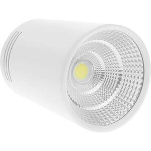 BeMatik - LED Fokus Oberfläche COB Lampe 7W 220VAC 3000K weiss 75mm