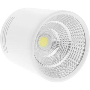 LED Fokus Oberfläche COB Lampe 12W 220VAC 6000K weiss 100mm - Bematik