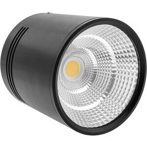 LED Fokus Oberfläche COB Lampe 12W 220VAC 6000K schwarz 100mm - Bematik