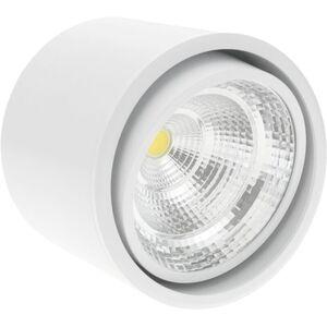 BeMatik - LED Fokus Oberfläche COB Lampe 12W 220VAC 6000K weiss 115mm