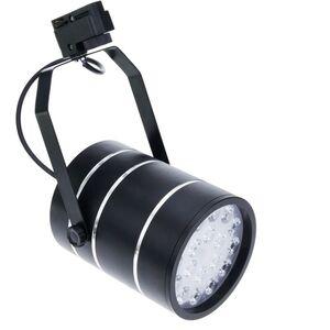 LED-Strahler 18W cool white Tag Schienen 120x155mm schwarz - Bematik