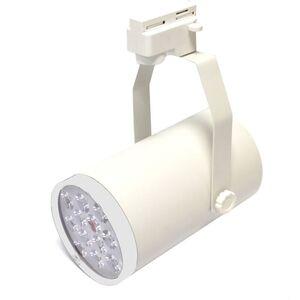 BeMatik - LED-Strahler 12W Schienen weißen Elfenbeinweiß 100x190mm kalten Tag