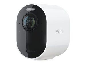 Arlo Ultra 2, kabellose 4K-UHD-Add-On Sicherheitskamera, WLAN, weiß
