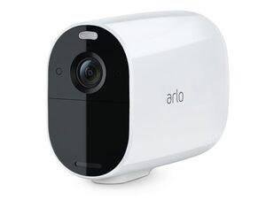 Arlo Essential XL Spotlight, WLAN-Überwachungskamera, kabellos, weiß