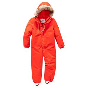 Baby Schneeoverall mit Fellimitat