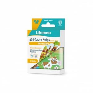 Lifemed® - Kinderpflaster - Farmtiere - 40 Stück
