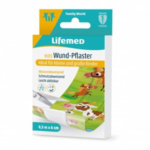 Lifemed® - Kinderpflaster - Farmtiere - ca. 0,5 m x 6 cm