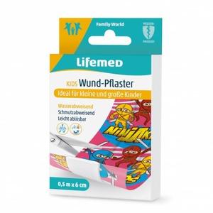 Lifemed® - Kinderpflaster - Ninjas - ca. 0,5 m x 6 cm