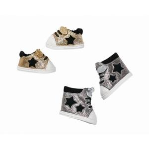 BABY born® Trend - 1 Paar Chucks silber & gold - verschiedene Ausführungen