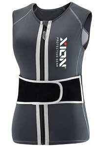 XION Freeride Vest V1 - Rückenprotektor für Damen - Grau