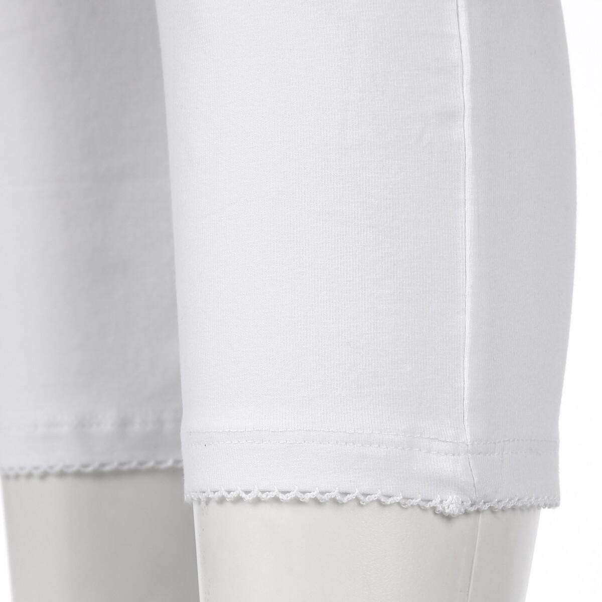 Bild 3 von Damen Capri Leggings mit Mausezähnchenabschluss