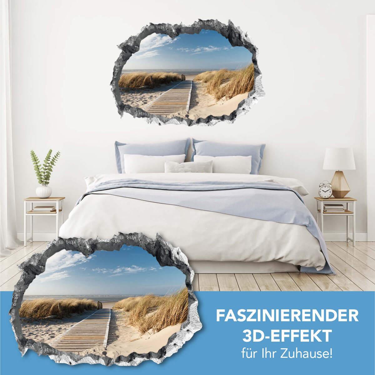 Bild 2 von Easymaxx 3D Wandtattoo - Ostsee