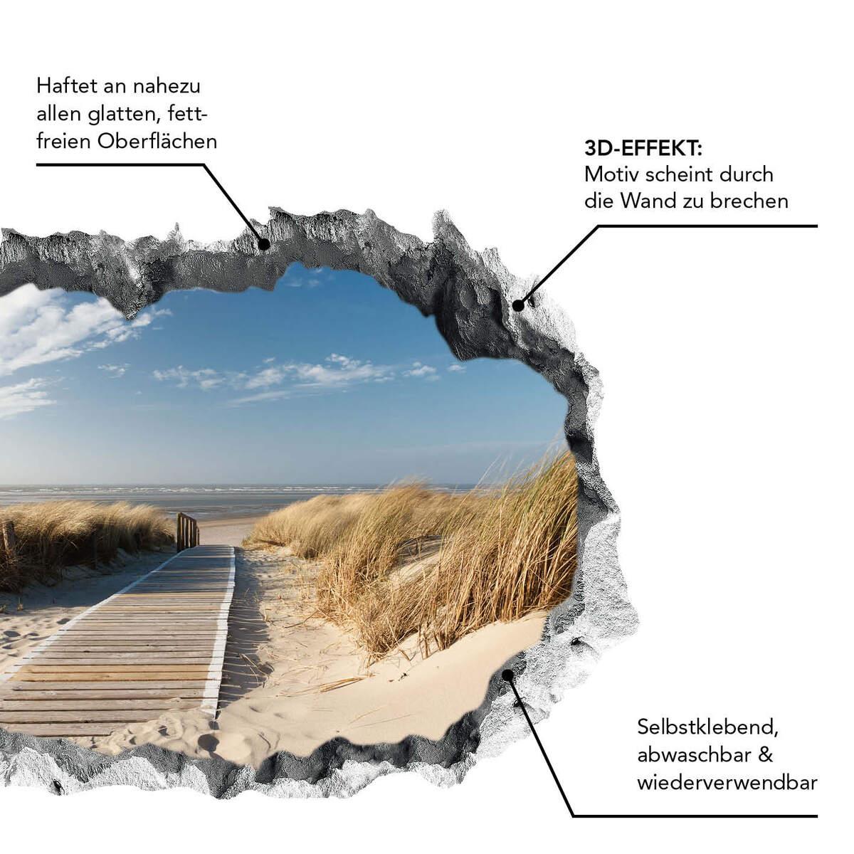 Bild 3 von Easymaxx 3D Wandtattoo - Ostsee