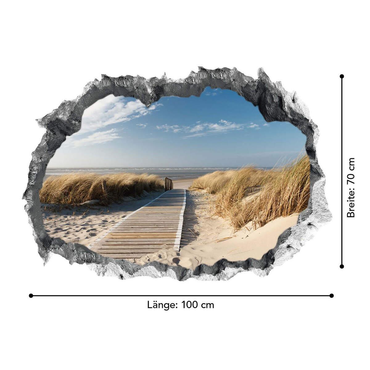 Bild 4 von Easymaxx 3D Wandtattoo - Ostsee