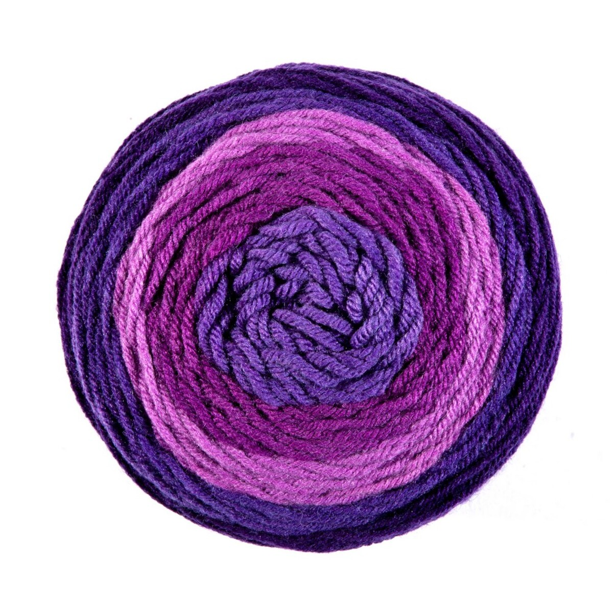 """Bild 1 von Ellenor Effektgarn """"Swirl Creation"""" - Beere/Lila/Blau"""