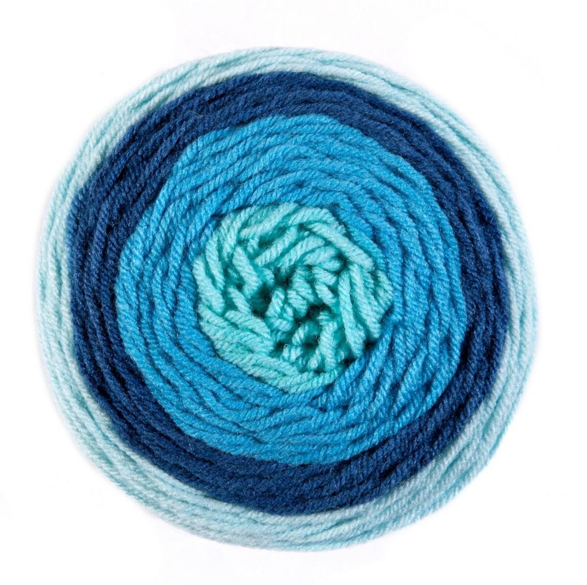 """Bild 1 von Ellenor Effektgarn """"Swirl Creation"""" - Mint/Türkis/Petrol"""