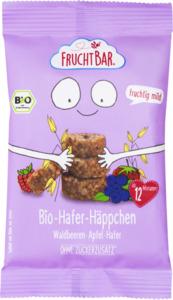 FruchtBar Bio-Hafer-Häppchen Waldbeeren, Apfel, Hafer