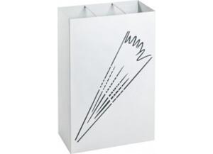 Schirmständer weiß lackiert
