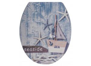WC-Sitz Duroplast Motiv Seaside 3D