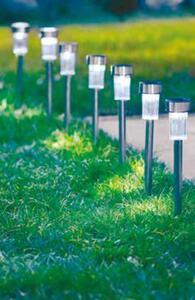 Garden Dream 7er-Pack Solar-Edelstahllampen