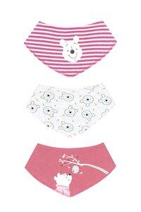 Baby Lätzchen, 3er Pack - versch. Lizenzen & Größen - Winnie the Pooh für Mädchen - Gr. 62/68