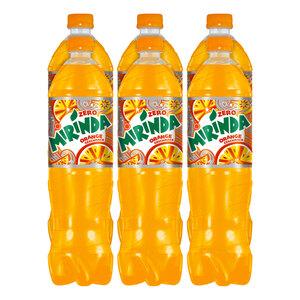 Mirinda Zero Orange 1,5 Liter, 6er Pack