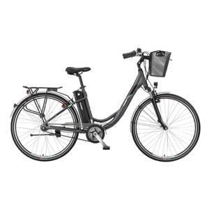 "Telefunken Multitalent RC860 28"" Alu City E-Bike 7-Gang Kettenschaltung anthrazit"