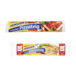 Henglein Frischer Pizzateig, Hefeteig für Blechkuchen oder Blätterteig XXL