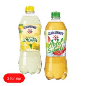 Gerolsteiner, Frucht, Plus, Limo, Kräuter Wasser oder Schorle