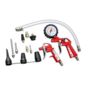 Kraft Werkzeuge Druckluft-Zubehör-Set 13tlg.