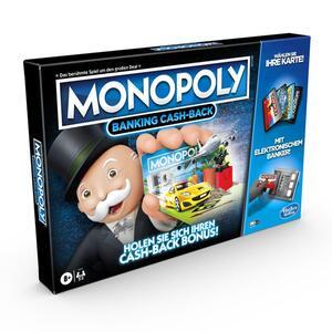 HASBRO Monopoly Banking Cash-Back