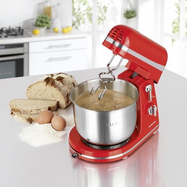 Küchenmaschine Gormetmaxx in Rot