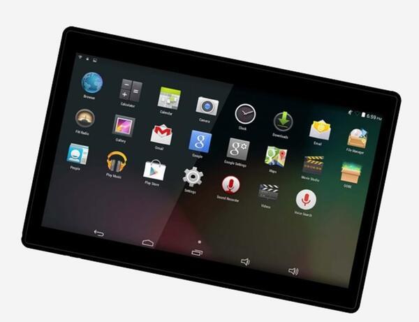 Denver Tablet 25,6cm (10,1 Zoll) TIQ-10393, 1GB RAM, 16GB Speicher, Farbe: Schwarz