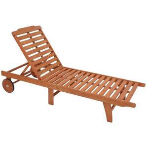 Garden Pleasure Sonnenliege Palm Springs Holz Garten Liege Möbel Relaxliege