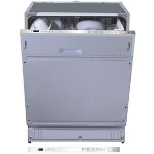 PKM Einbau Geschirrspüler Spülmaschine Spüler DW12-7FI Vollintegriert 60 cm