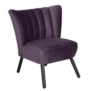 Max Winzer Alessandro Sessel - Farbe: purple - Maße: 70 cm x 66 cm x 80 cm; 2877-1100-2044233-F09
