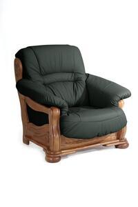 Max Winzer Tennessee Sessel - Farbe: dunkelgrün - Maße: 104 cm x 95 cm x 95 cm; 2919-1100-9210018-F04