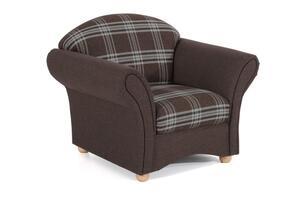 Max Winzer  Sessel - Farbe: braun - Maße: 96 cm x 86 cm x 83 cm; 2887-1100-20774-2077301-F01
