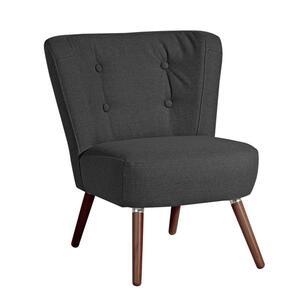 Max Winzer Neele Sessel - Farbe: schwarz - Maße: 69 cm x 68 cm x 80 cm; 2693-1100-1645240-F07
