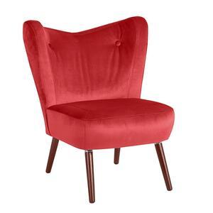Max Winzer Sari Sessel - Farbe: rot - Maße: 70 cm x 69 cm x 86 cm; 30151-1100-2044223-F07